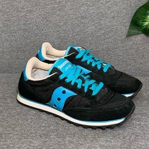 Saucony Jazz Low Pro Blue Lace Sneakers 8.5